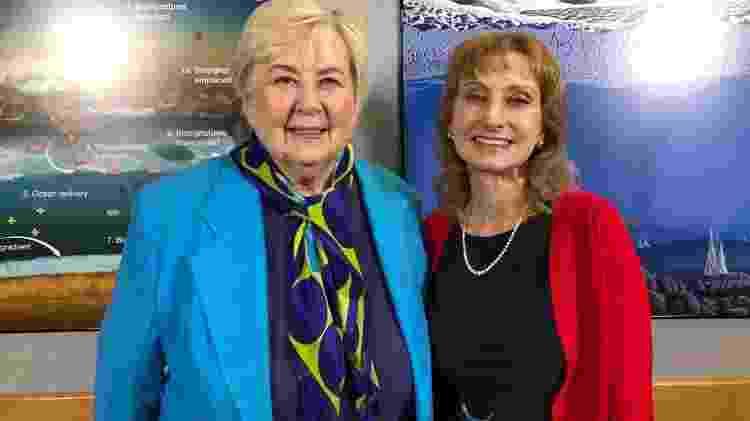 Frances 'Poppy' Northcutt e Rosaly Lopes: encontro 49 anos depois de inspiração - Arquivo Pessoal