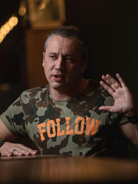 O diretor de teatro Roberto Alvim - Bruno Santos-08.jun.2019/Folhapress