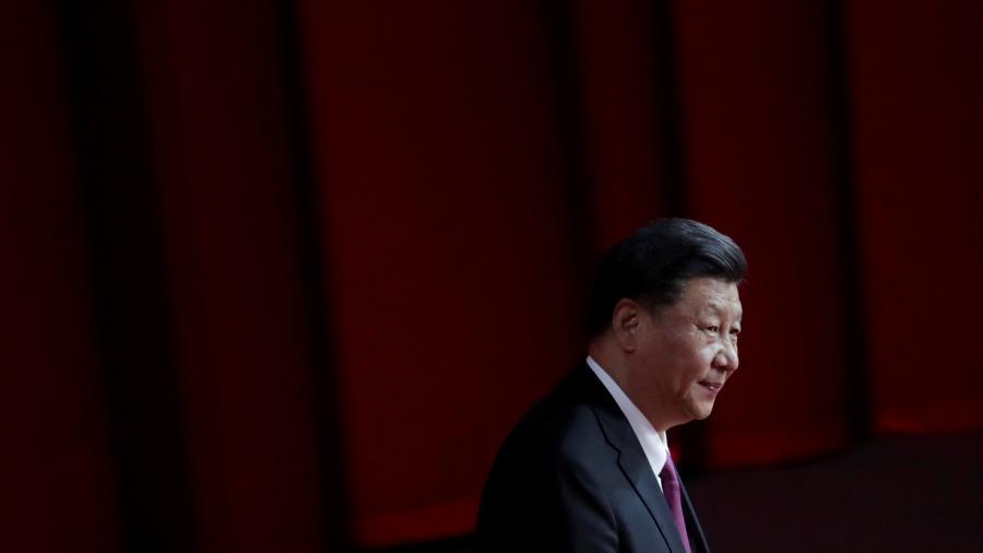 Presidente da China, Xi Jinping, chega em apresentação em Macau - JASON LEE