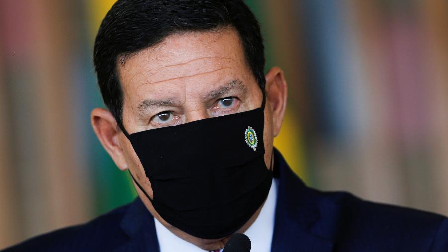 Vice-presidente Hamilton Mourão diz que países têm aproveitado crise para implementar medidas protecionistas - ADRIANO MACHADO