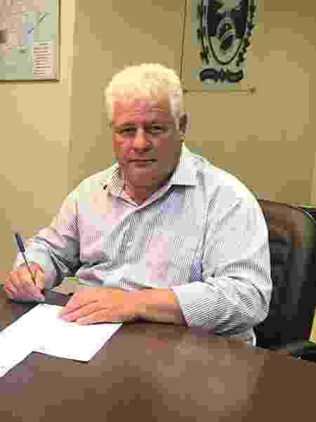 Luiz Carlos Lutterbach, prefeito de Duas Barras (RJ) - Divulgação / Prefeitura de Duas Barras