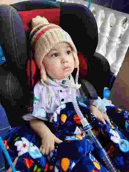 Com quase 2 anos, Arthur tem pouco tempo para receber o remédio mais caro do mundo  - Arquivo Pessoal - Arquivo Pessoal