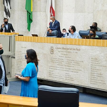 Na Câmara Municipal de São Paulo, as sessões voltam a ser virtuais - Afonso Braga / Rede Câmara
