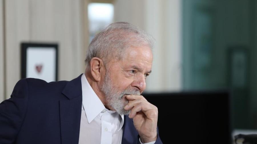 Ex-presidente Lula (PT) assina carta aberta que pede ao presidente dos Estados Unidos, Joe Biden, o fim das sanções econômicas contra Cuba - Ricardo Stuckert/Twitter