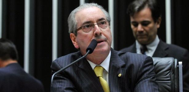 O presidente afastado da Câmara dos Deputados, Eduardo Cunha (PMDB-RJ), participa de sessão no plenário