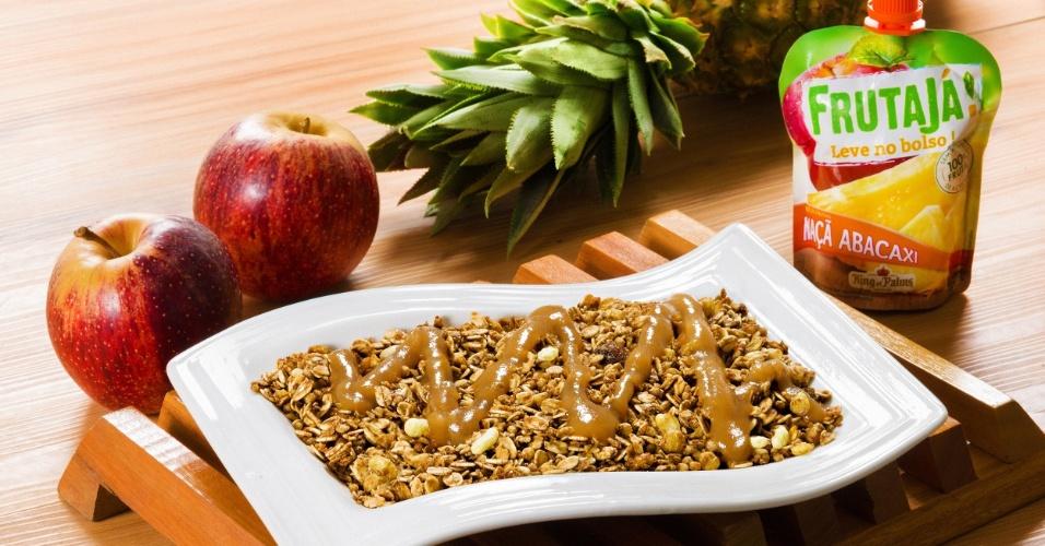 A Frutajá foi criada pelo empresário Cláudio Guimarães, 70, dono da King of Palms, que resolveu começar a produzir purê de frutas natural, sem adição de açúcar e conservante. O produto tem cinco combinações diferentes, tendo a maçã como base para todas. São elas: maçã com banana; maçã com abacaxi; maçã com morango e banana; maçã com manga e goiaba e maçã e açaí, exclusivo da marca, segundo Guimarães