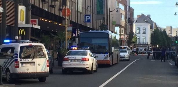 Mulher que fez o ataque em ônibus em Bruxelas foi ferida pela polícia