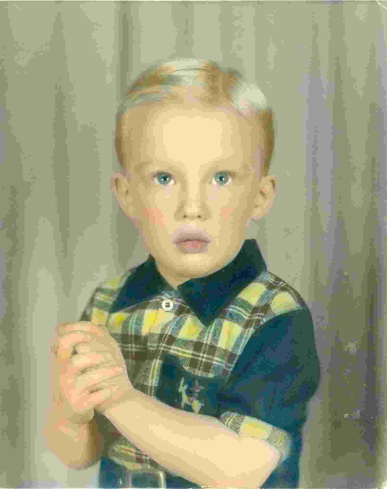 Donald Trump quando criança - Reprodução/Facebook Donald J. Trump