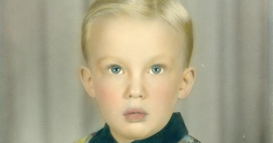 Donald Trump quando criança
