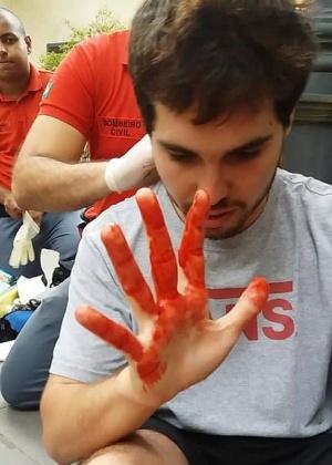 João Pedro diz ter sofrido ataque homofóbico dentro do shopping Pátio Higienópolis - Reprodução/Facebook