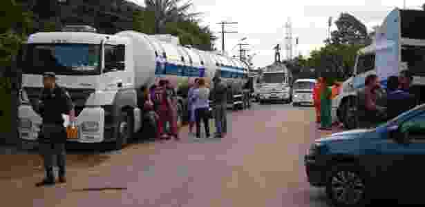 Greve dos caminhoneiros entra no quarto dia, com impactos em todo o país - Edmar Barros/Futura Press/Estadão Conteúdo