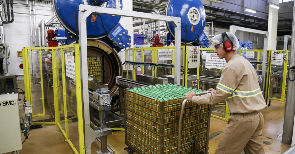 Panela de pressão da papinha Nestlé