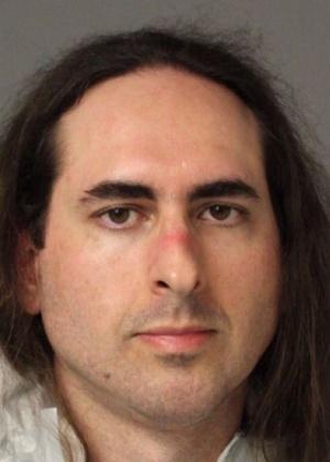Jarrod Ramos, suspeito de matar cinco pessoas no escritório do jornal Capital Gazette, em Annapolis, Maryland. - Anne Arundel Police/José Romero/AFP Photo