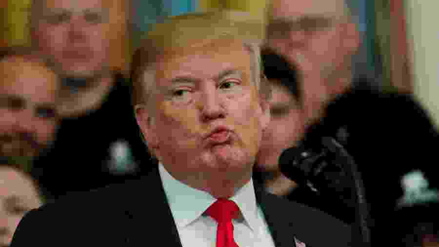 O Presidente dos Estados Unidos, Donald Trump - Carlos Barria/Reuters