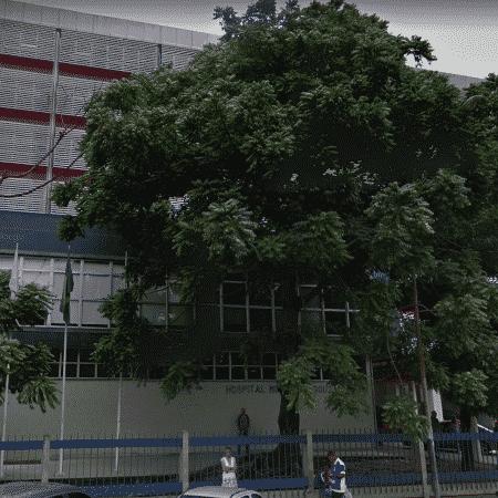 Entrada do Hospital Municipal Souza Aguiar - Reprodução/Google Maps