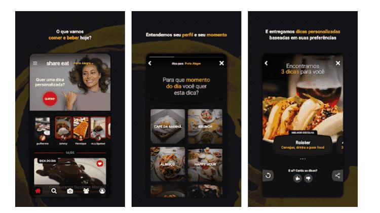 Share Eat: Apps para ajudar no rolê com os amigos - Reprodução - Reprodução