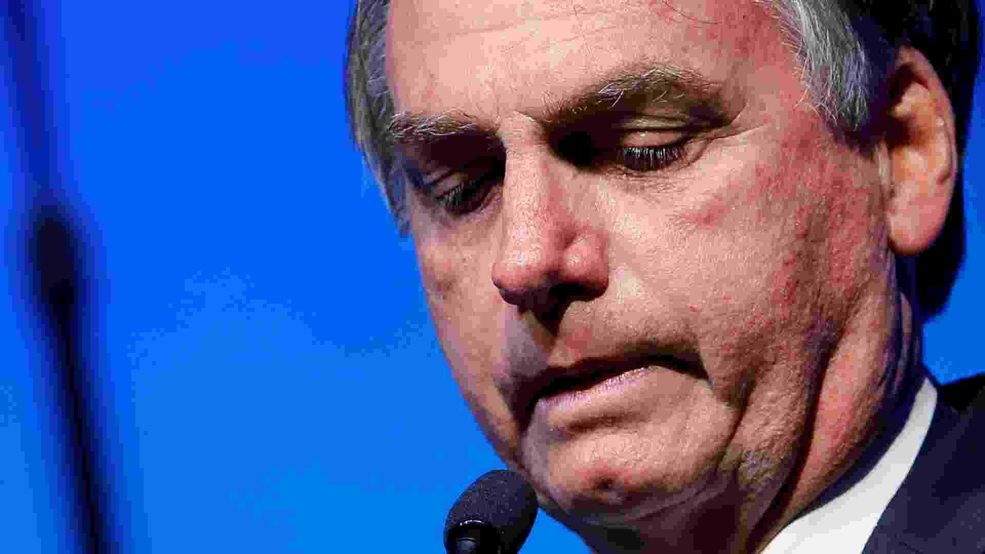 Bolsonaro deixa Palácio da Alvorada, em Brasília, para cumprir agenda oficial - Por Luciano Costa