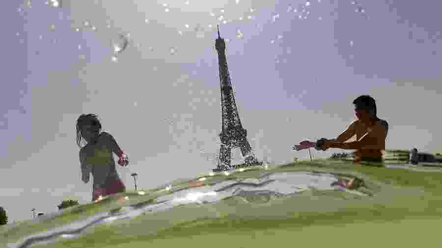 França foi um dos países que contou com altas temperaturas em 2019 - Dominique Faget/AFP