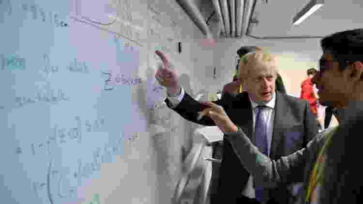 Boris Johnson anunciou visto expresso para cientistas - Getty Images - Getty Images