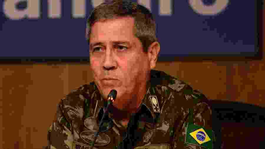Walter Souza Braga Netto participa de evento no Rio de Janeiro - ERBS JR./FRAMEPHOTO/FRAMEPHOTO/ESTADÃO CONTEÚDO