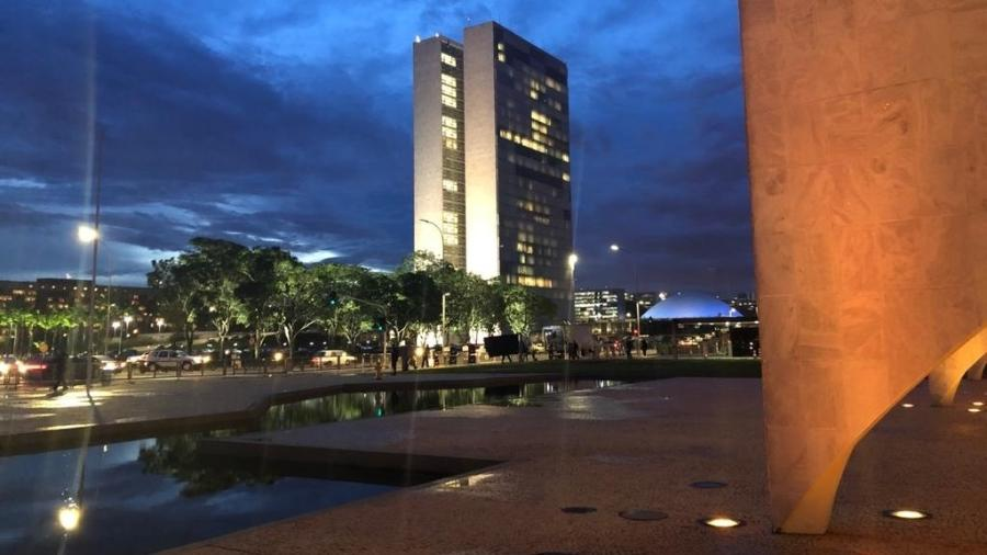 O Congresso Nacional visto do Palácio do Planalto - Luciana Amaral/UOL