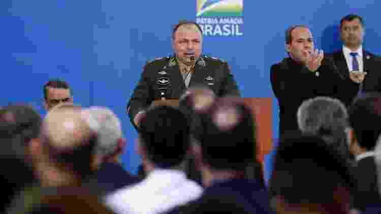 Governo ameaçou processar servidores que divulgarem informações sobre o ministério de Eduardo Pazuello - Alan Santos/PR - Alan Santos/PR