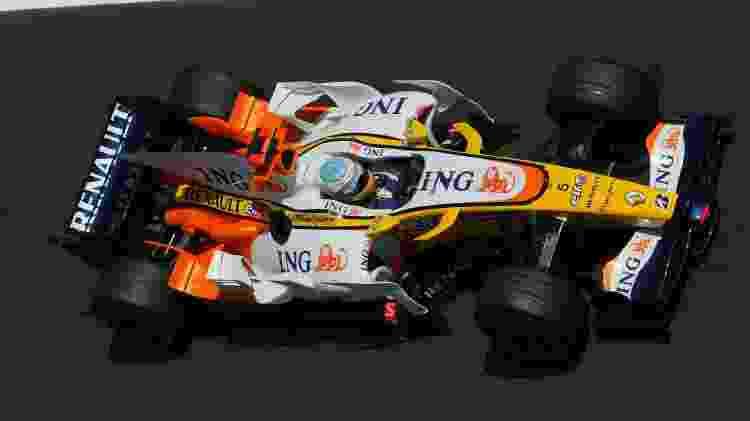 Renault F1 R28 Alo - Divulgação  - Divulgação