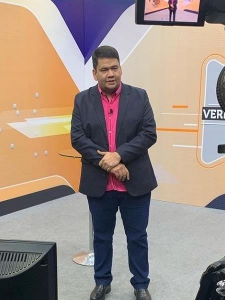Diego Santos, daTV Norte Boa Vista, afiliada do SBT em Roraima - Reprodução
