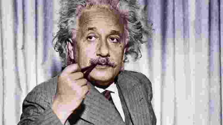 Albert Einstein descreveu o entrelaçamento quântico como 'uma ação fantasmagórica à distância' - Getty Images - Getty Images