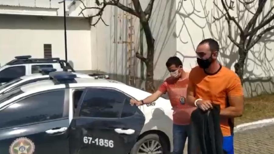 Ex-gerente de banco é preso por sacar dinheiro de previdência de cliente morto - PMRJ/reprodução