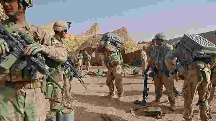 Estados Unidos queriam encerrar sua guerra mais longa - Getty Images - Getty Images