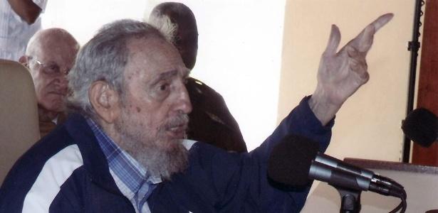 O ex-presidente de Cuba Fidel Castro, em foto de julho de 2015 - Efe