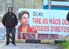 Greve da Petrobras - Nilton Cardin/Estadão Conteúdo