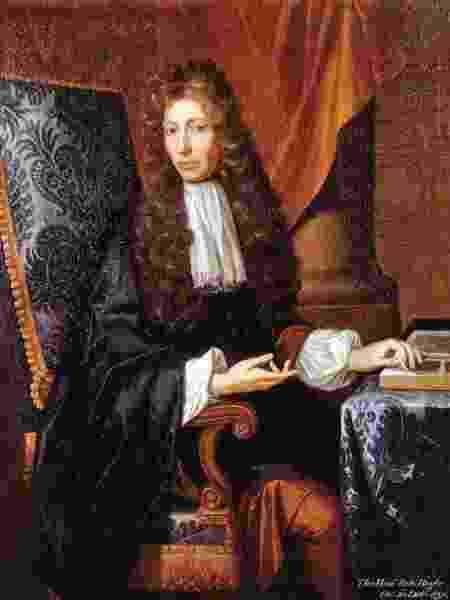 A prolongação da vida é um dos itens da lista de Robert Boyle, pai da Química moderna - Domínio público
