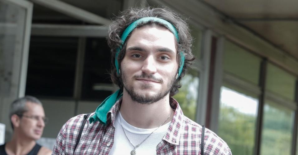 29.nov.2015 - Rafael Bittar, 18, fez a prova para tentar uma vaga no curso de ciências sociais da USP (Universidade de São Paulo). A Fuvest aplicou neste domingo a 1ª fase do vestibular 2016