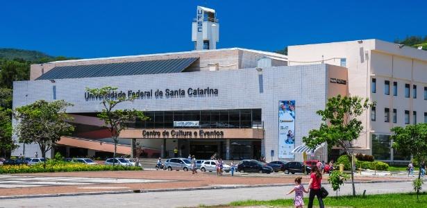 Campus da Universidade Federal de Santa Catarina em Florianópolis