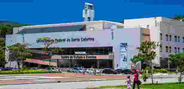 9.nov.2014 - Campus da Universidade Federal de Santa Catarina em Florianópolis - Cadu Rolim/Fotoarena/Folhapress
