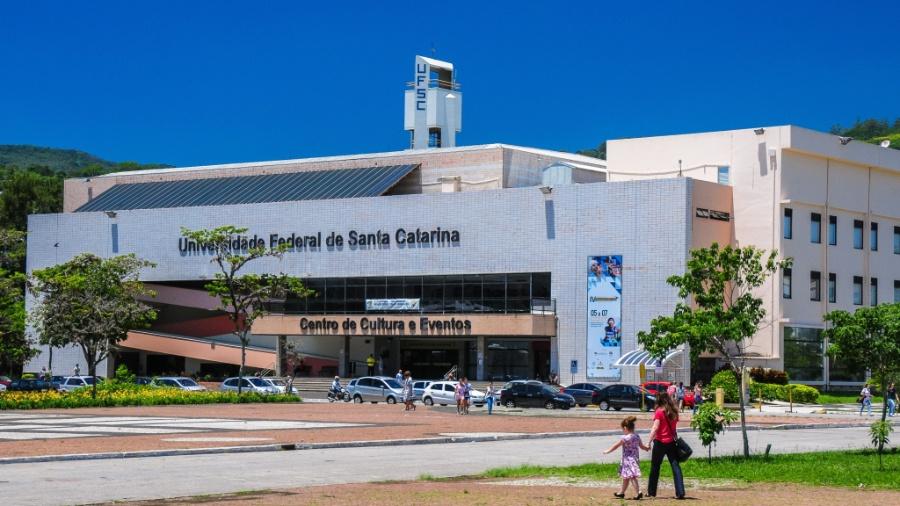 Campus da Universidade Federal de Santa Catarina, uma das afetadas pelos cortes - Cadu Rolim/Fotoarena/Folhapress