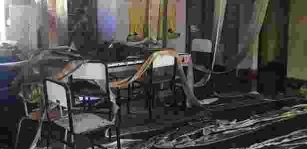 Ao menos quatro crianças de quatro anos morreram no ataque a uma creche registrado em Janaúba (MG) nesta quinta-feira (5) - PM-MG/Divulgação - PM-MG/Divulgação