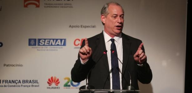 8.mai.2018 - Ciro Gomes, pré-candidato do PDT à Presidência