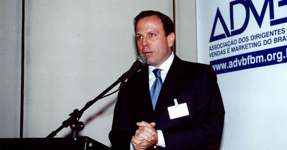 Entre 1983 e 1986, Doria foi secretário de turismo e presidente da Paulistar, na gestão do então prefeito Mário Covas, em São Paulo. Em seguida foi presidente da Embratur e do Conselho Nacional de Turismo entre 1986 e 1988, durante o governo José Sarney