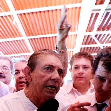 O médium João de Deus - Ernesto Rodrigues/Estadão Conteúdo