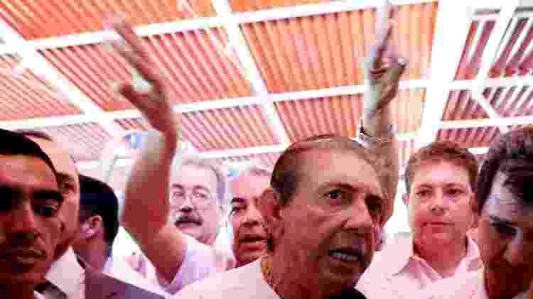 O médium João de Deus chega ao centro Dom Inácio de Loyola, em 2018 - Ernesto Rodrigues/Estadão Conteúdo - Ernesto Rodrigues/Estadão Conteúdo