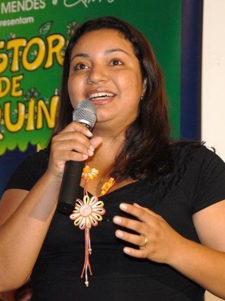 """Elenira Mendes, 34, recebeu do pai, Chico Mendes, a missão de se formar em direito para defender """"as pessoas da floresta"""" - Angela Peres"""