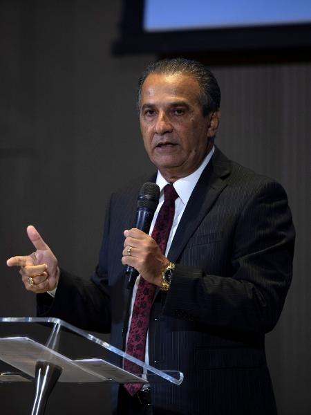 O pastor Silas Malafaia propõe combate ao coronavírus com oração - Mauro Pimentel/AFP