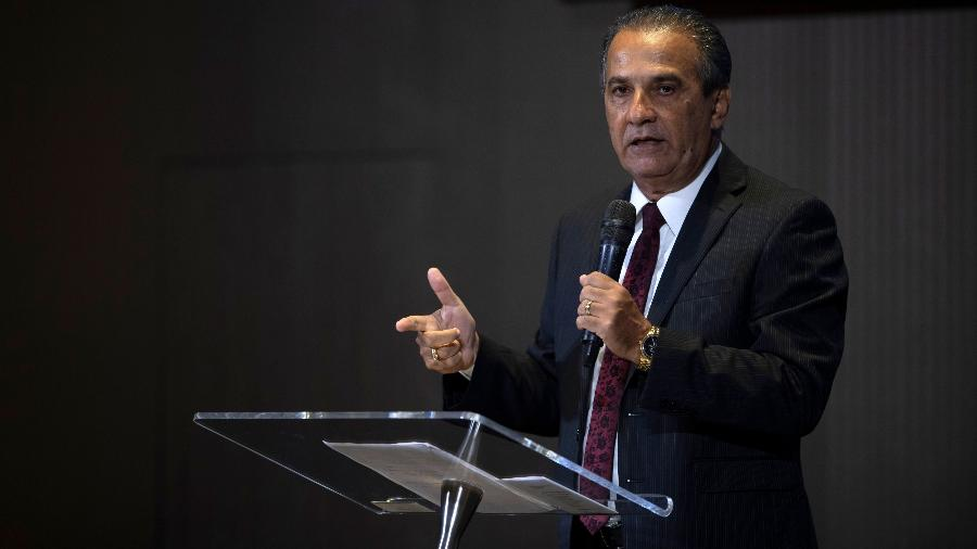 O pastor Silas Malafaia - Mauro Pimentel/AFP
