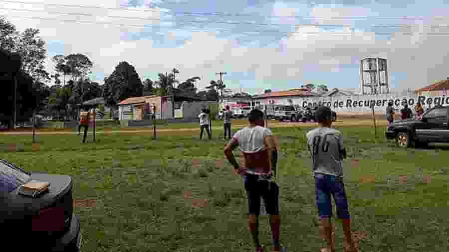 Mais de 50 pessoas foram mortas em guerra de facções dentro de presídio no Pará - EPA