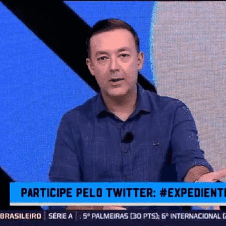 Leandro Quesada, dos canais Fox Sport, cita Guto Ferreira, Rogério Ceni e Ricardo Catalá, como opções para o Santos - Reprodução