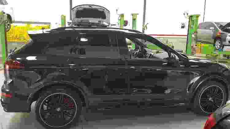 Porsche Cayenne cedido à Polícia Militar de Santa Catarina - Divulgação/Polícia Militar-SC