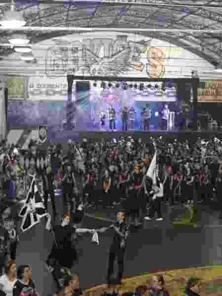 Ensaio da escola de samba Gaviões da Fiel para o Carnaval 2020 - Divulgação